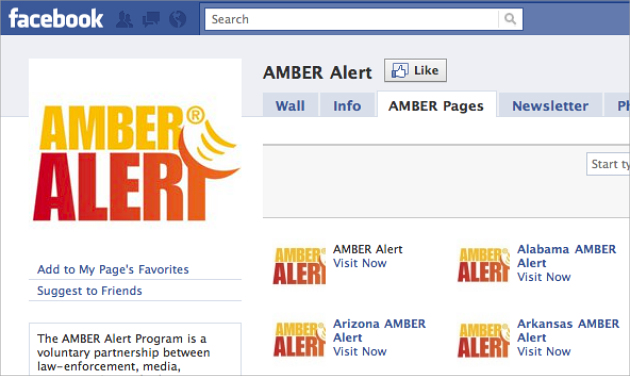 Facebook Can Now Help Find Missing Children with Amber Alerts