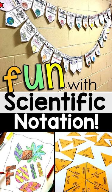 fun scientific notation activities