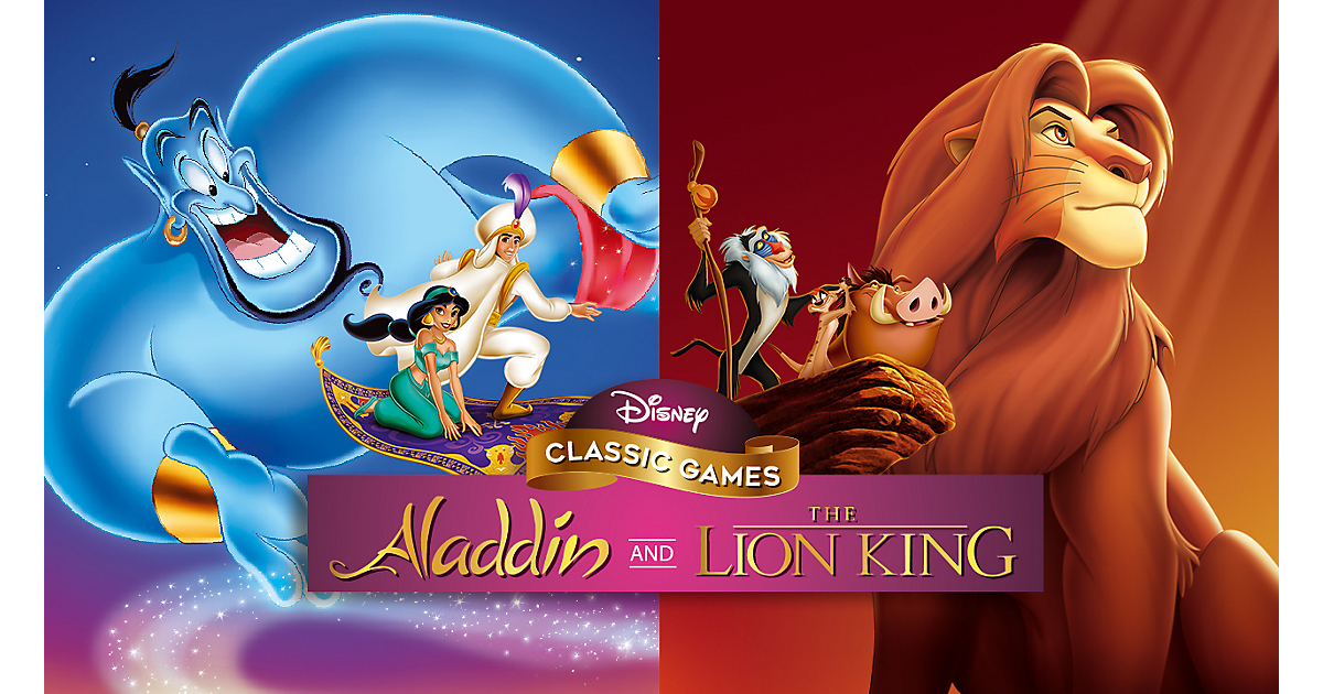 Superphillip Central Disney Classic Games Aladdin And The Lion King Nsw Ps4 Xb1 Pc Review