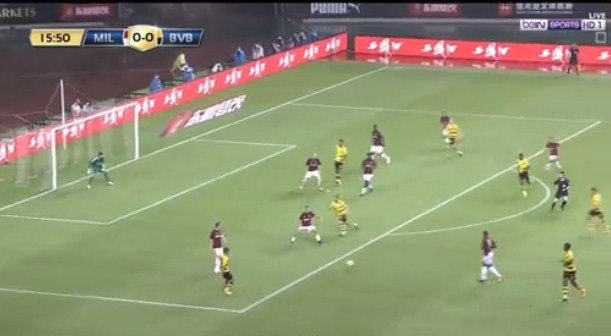 فيديو : بوروسيا دورتموند يفوز على ميلان بثلاثية مقابل هدف 18-07-2017 فى افتتاح الكأس الدولية للأبطال