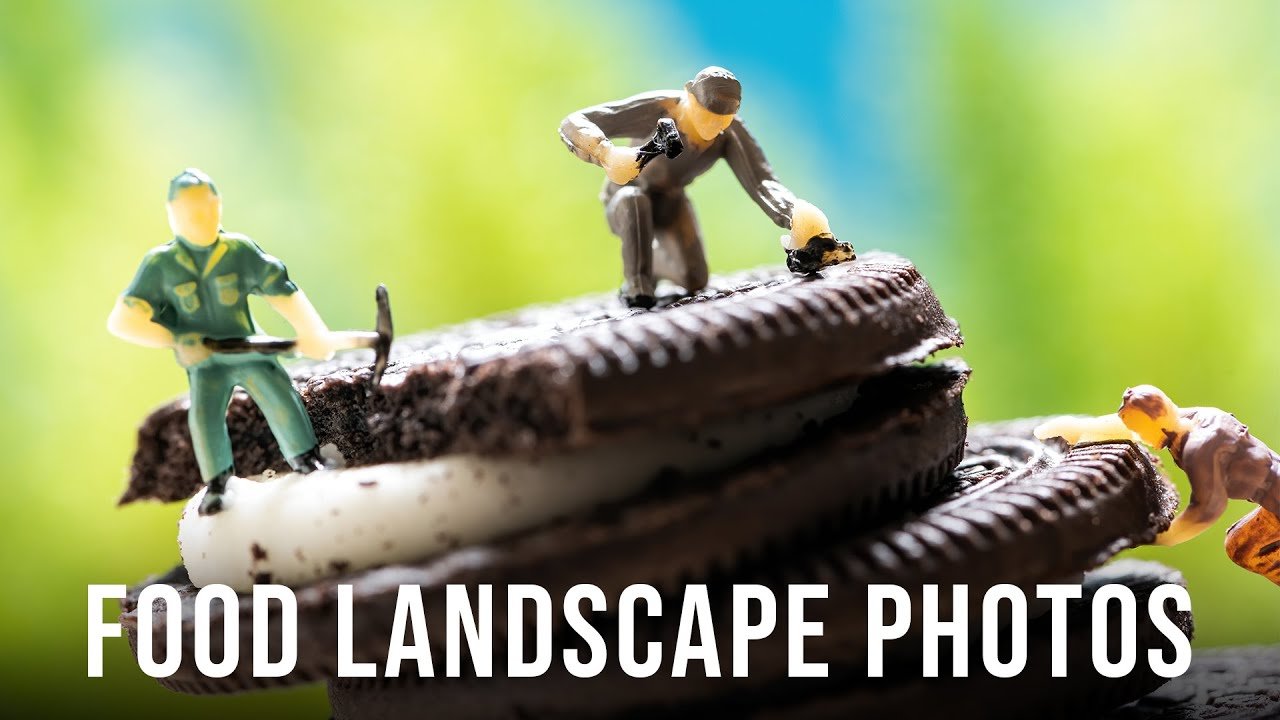 Food Landscape Photography At Home: Photography Tips for Creative Visual Storytelling