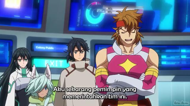 Gundam Build Drivers Re-Rise Episode 06 Subtitle Indonesia