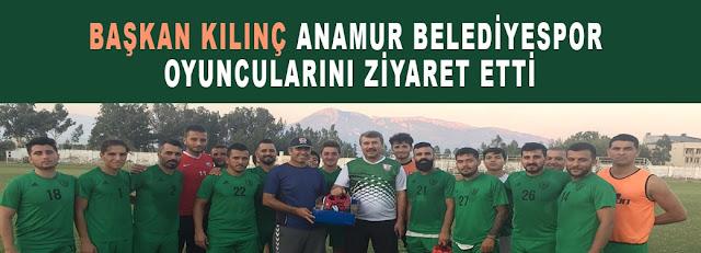 MANŞET, Anamur Belediyespor, SPOR, Hidayet Kılınç, Anamur Haber, Anamur Son Dakika,