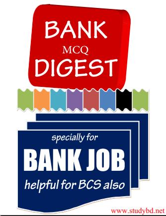 BCS & Bank Digest Bangla(Shams)