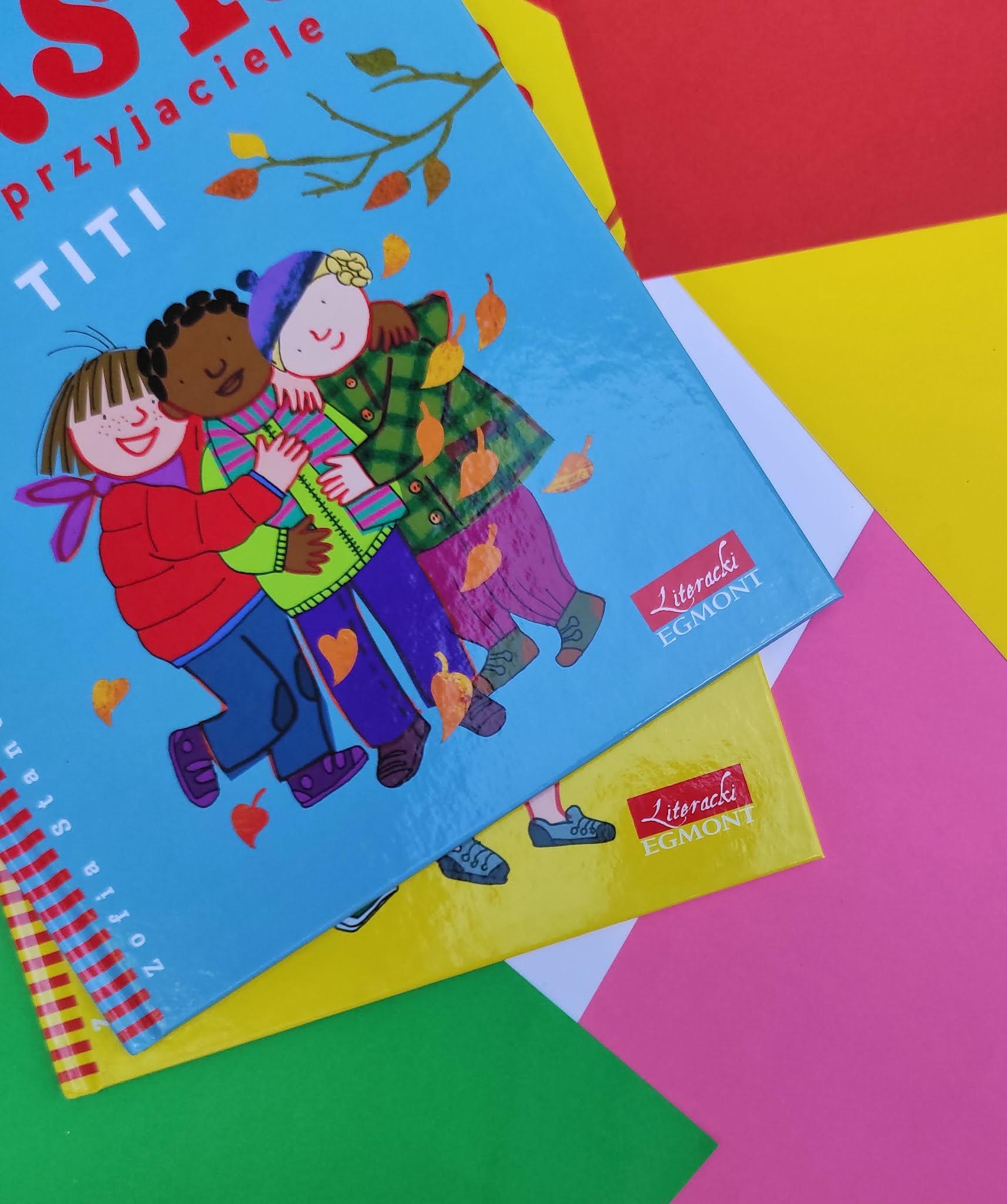 """Seria książeczek dla dzieci """"Basia i przyjaciele"""""""