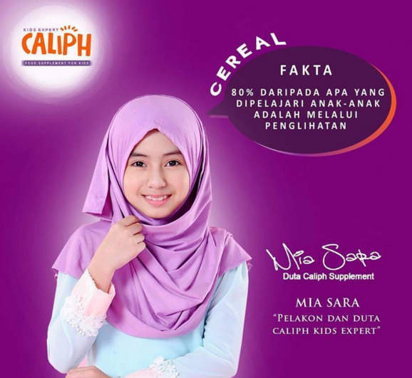 caliph cereal nutrition for eyes