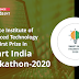 Defence Institute of Advanced Technology wins first prize in Smart India Hackathon-2020