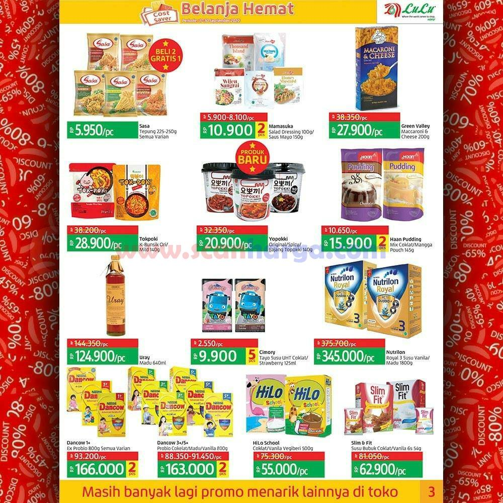 Katalog Promo LULU Supermarket 17 - 30 September 2020 3