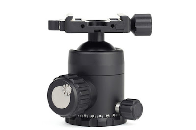 Sunwayfoto FB-36 ball head side view