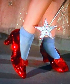 Dorothys Red Shoes Decoration