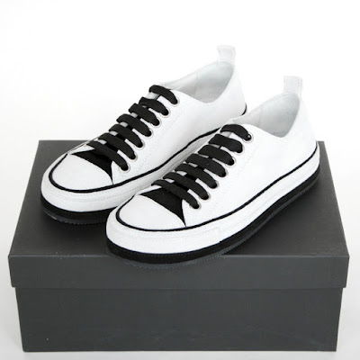 ann demeulemeester low top sneakers trainers