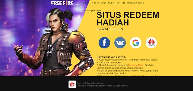 kode-kedeem-free-fire-ff-28-agustus-2020-