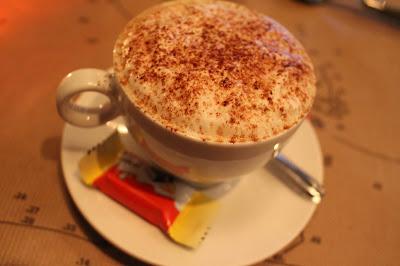 cappuccino et kinder