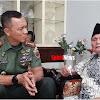 Danrem 141/ Tp, Temui Brigjen TNI (Purn) Bachtiar Karaeng Leo
