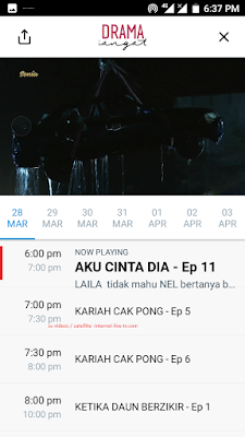 Tv drama sangat soap opera malay internet live tv channel free Malaysia