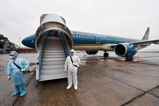 Vietnam Airlines thực hiện nghiêm túc các quy định phòng chống lây nhiễm COVID-19