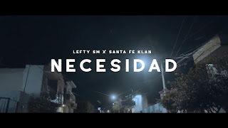 LETRA Esta Caliente Lefty SM ft Santa Fe Klan