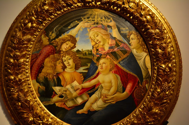Botticelli - la madone du Magnificat - 1481