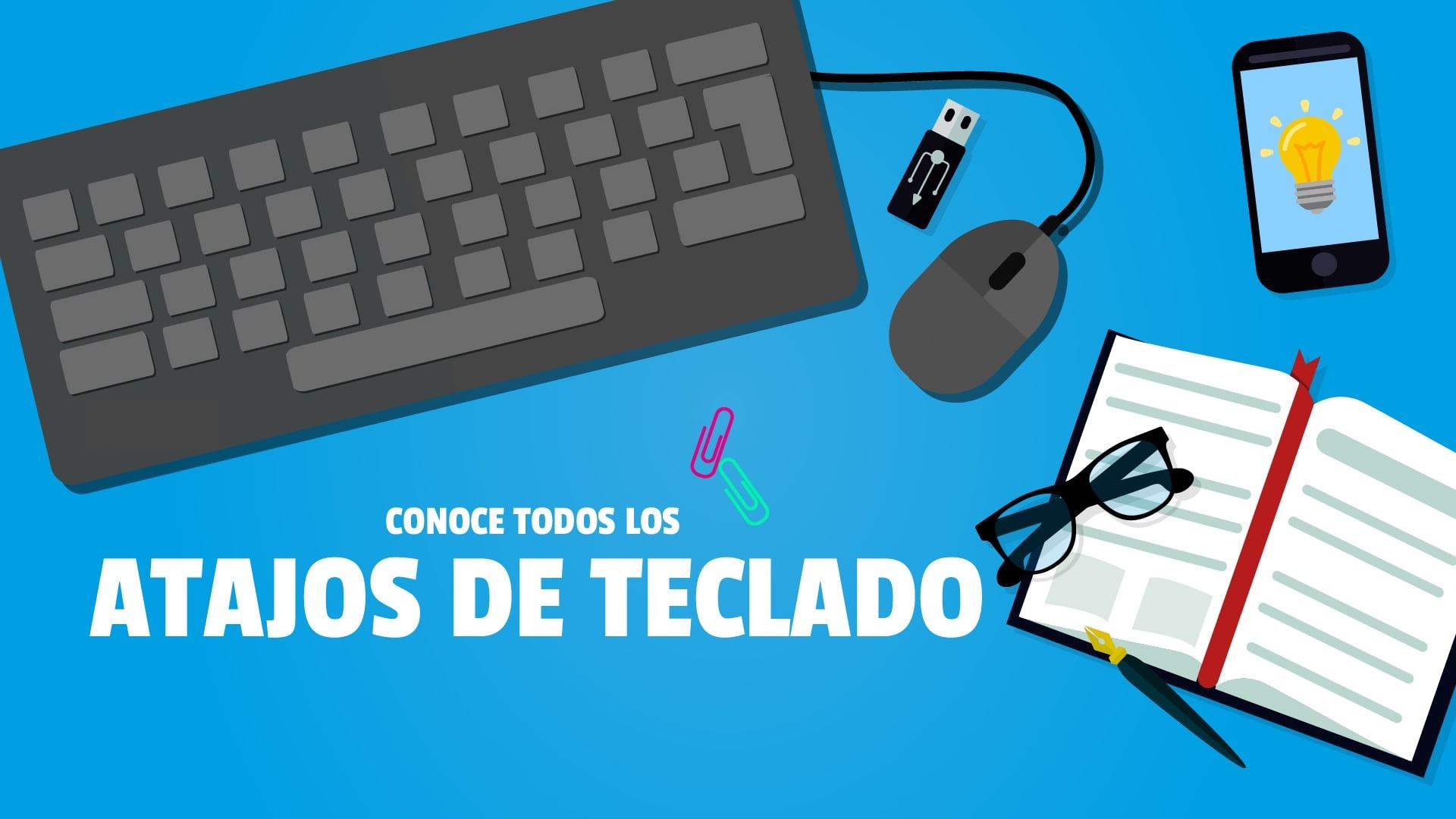 atajos de teclado word exel windows