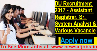 DU-16-Assistant-Registrar-System-Analyst-Various-Vacancies