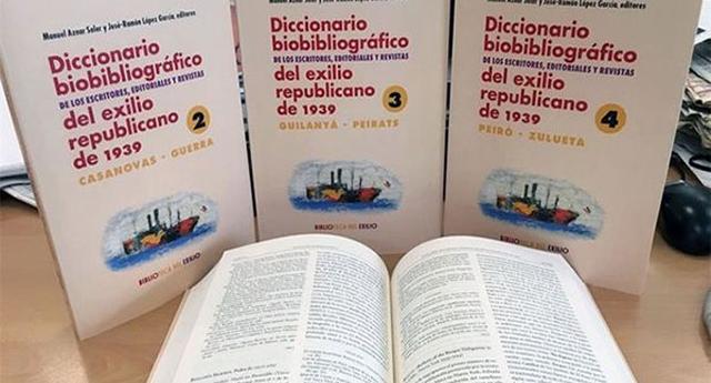 Un diccionario recopila la biografía y obras de más de mil exiliados republicanos