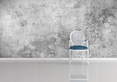 tapet betong grå betongvägg fototapet