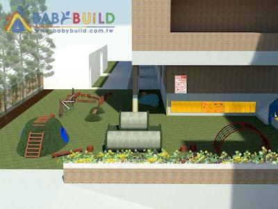 BabyBuild 兒童遊戲場設計彩圖