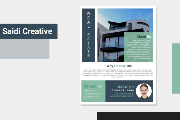 Free Download Realtor Flyer Template Word Document Fully Editable