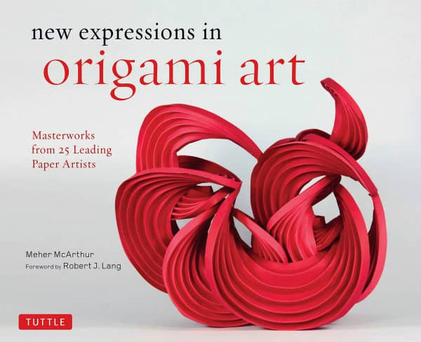 coffee table book of work by origami masters