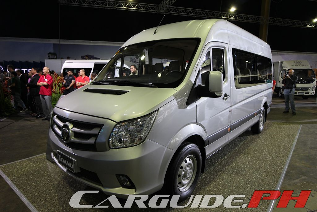 9 Seater Car >> Foton Unveils Gratour, Toano Vans | Philippine Car News, Car Reviews, Automotive Features, and ...