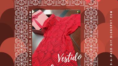 Vestido de Corazones al Crochet - DIY
