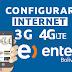 Configurar Internet APN 3G/4G LTE Entel Bolivia 2019