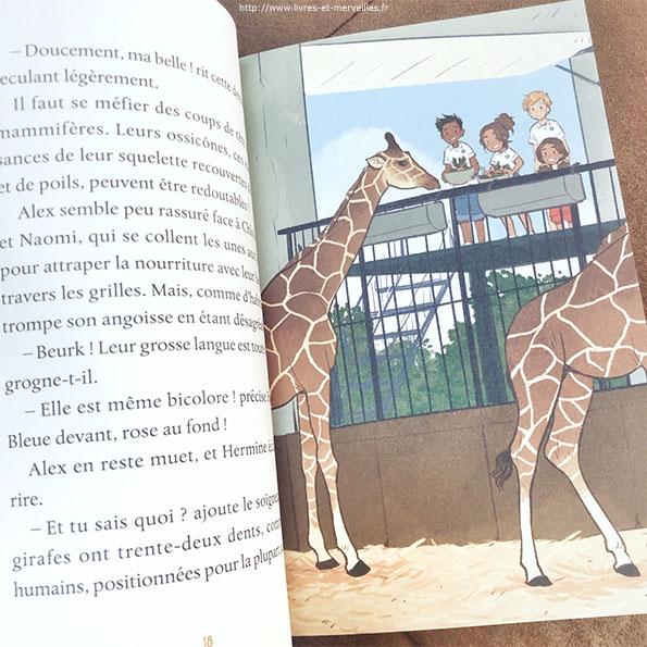 Soigneurs juniors - Mission girafon !