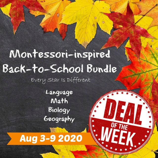 Deal of the Week: Montessori-inspired Back to School Bundle