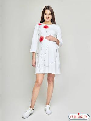 vestidos para embarazadas de graduacion