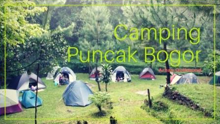 Camping di Puncak Bogor
