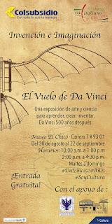 500 años del Vuelo de da Vinci | Museo El Chico