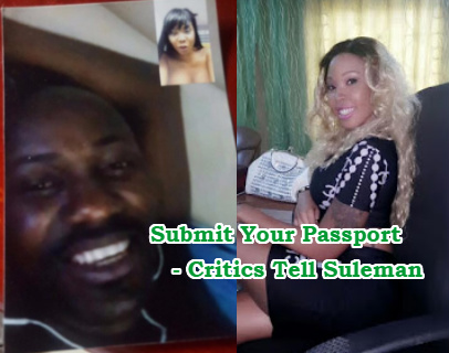 apostle suleman passport forensic examination