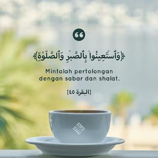 Tafsir Al-Baqarah ayat 45 wasta'inu bisshobri wasshalah