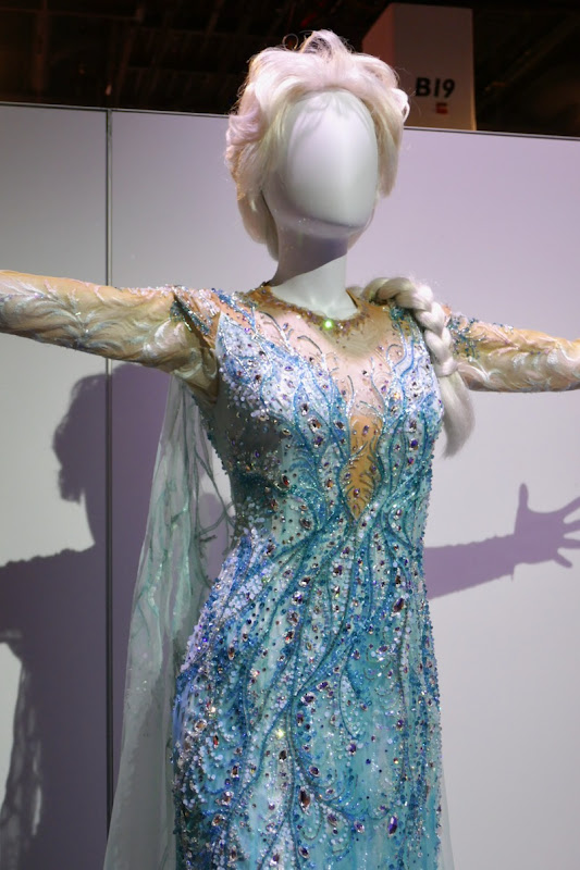 Frozen Broadway musical Elsa stage costume