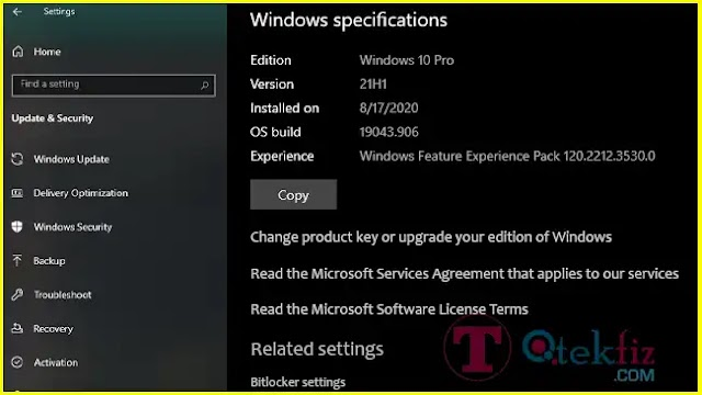 KB5001460 Windows 10 21H1 Feature Experience Pack 120.2212.3530.0