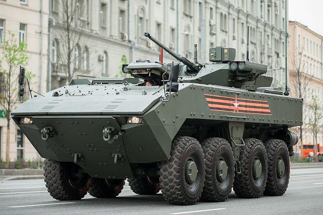Image Attribute: The file image of Bumerang APC / Source: Dmitriy Fomin from Moscow, Russia