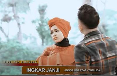 Lirik Lagu Tapsel Mandailing Angga Lida Ft. Yenti Lida – Ingkar Janji