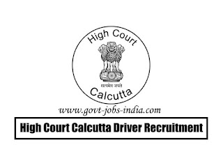 High Court Calcutta Driver Recruitment