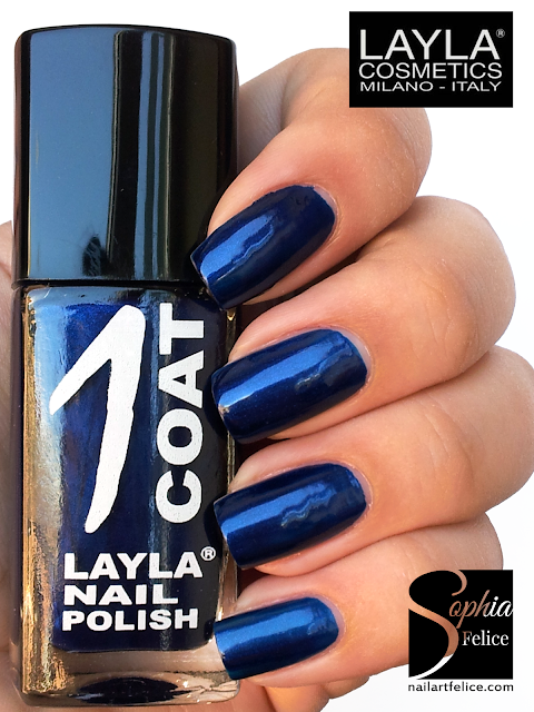 one coat layla n°22 - blue peach