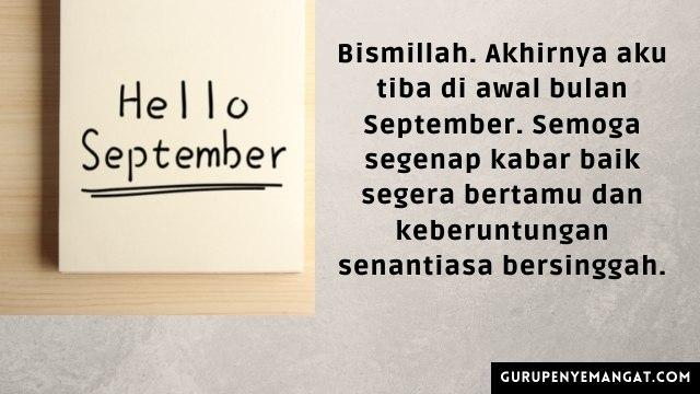 Quotes Awal September Penuh Makna