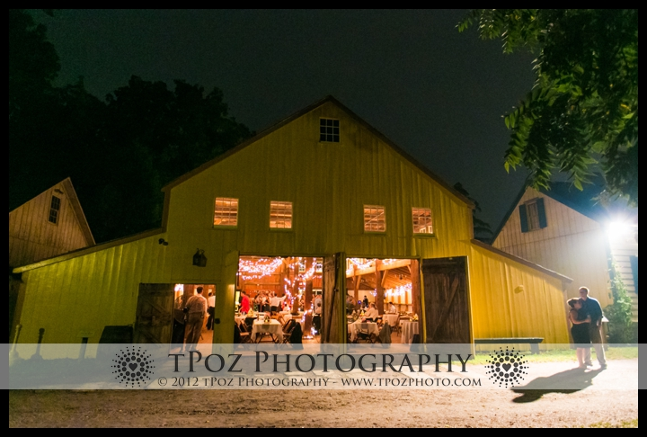 Wedding Reception at the Yellow Barn at the Landis Valley Museum in Lancaster, PA