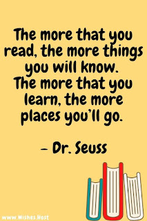 dr seuss quotes about reading