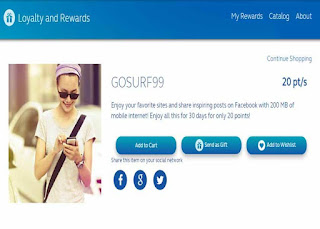 Alternative Ways to Register Globe GOSURF99