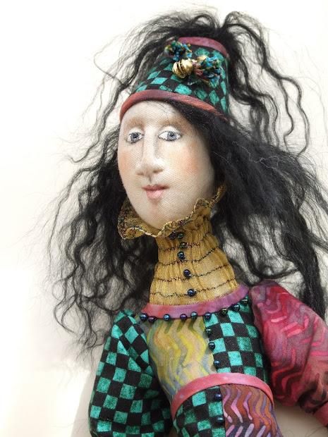 Fabric Art Doll Artist